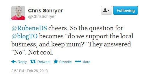 chris tweet