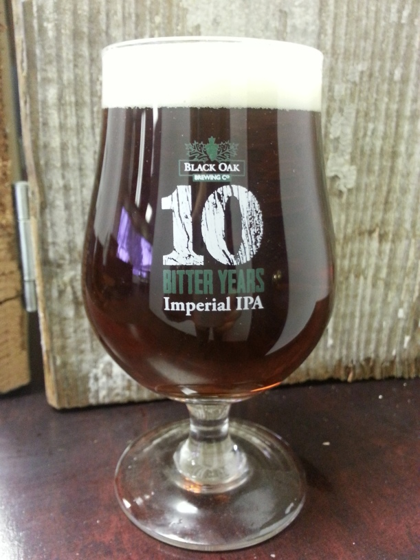 10 Bitter Years Glass