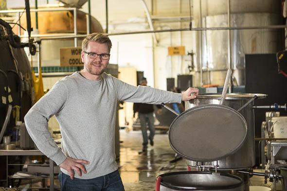 """Perhaps the beer should have been called """"Dork in a sweatshirt"""""""