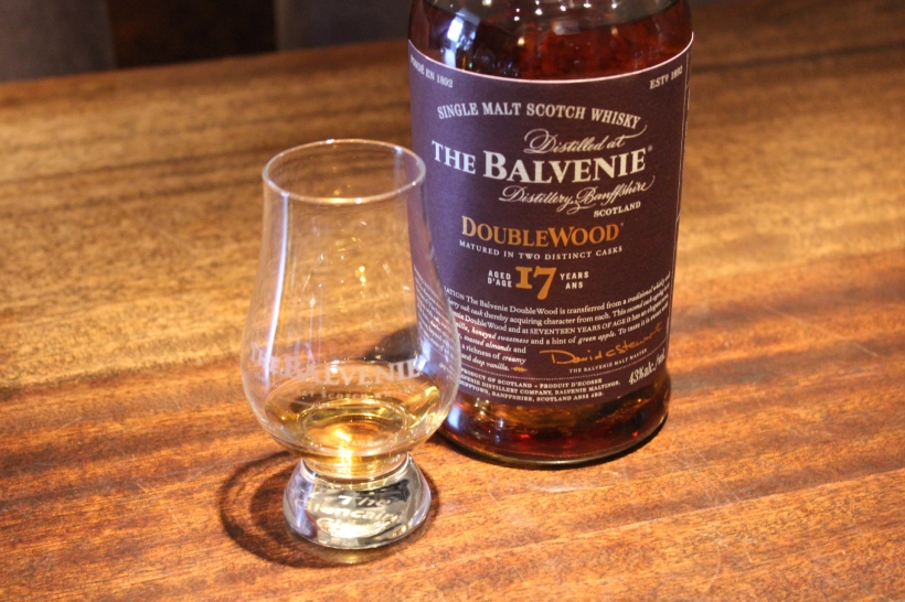 Balvenie 17 year old double barrel