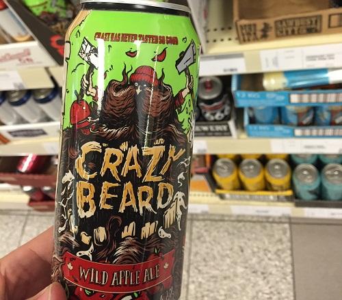 crazy beard