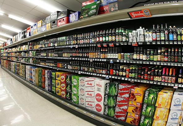 grocery beer